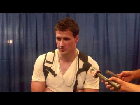 Ryan Lochte pre-Charlotte Grand Prix | PopScreen