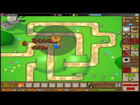 Bloons tower defense 5 btd5 precision pineapples daily challenge