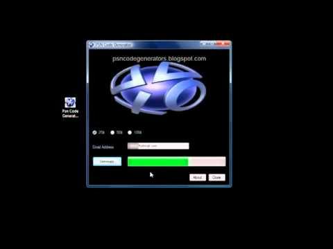 Free PSN Code Generator 2012 | PopScreen
