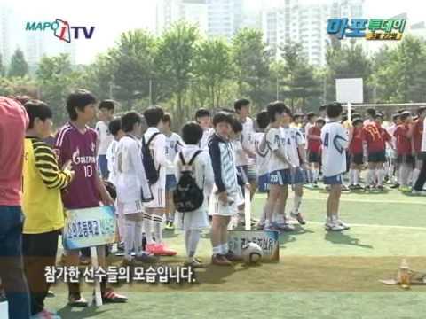 마포 iTV 5월 22일 뉴스. 구청장배 초등학교 축구 격돌 | PopScreen