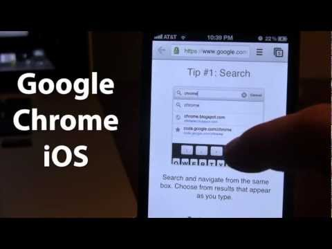 how to download google chrome on ipad