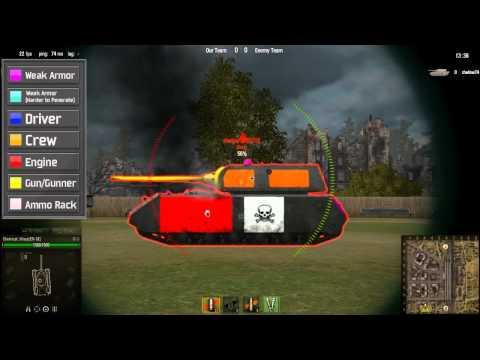 World of Tanks Weak Spots 0.74 2012 | PopScreen