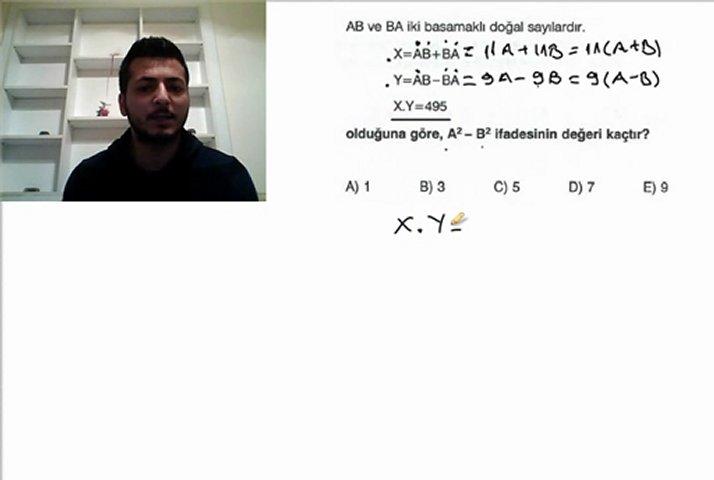 Mustafa Kapuz KPSS ve ALES Matematik Basamak Analizi Soru Çözümü 5 Soru! | PopScreen