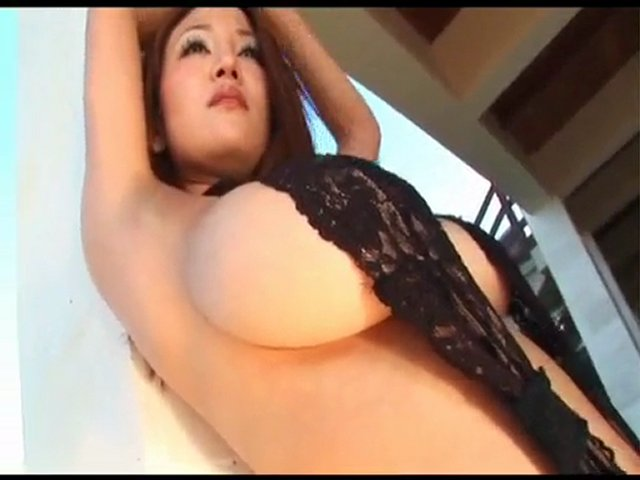 Sexy Yoko Matsugane Big Boobs Black Nightie | PopScreen