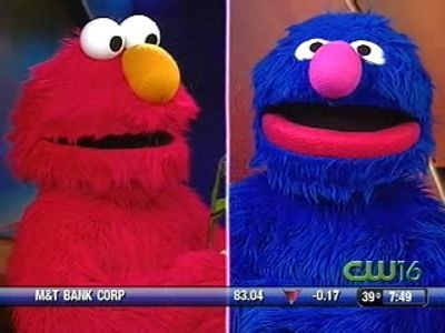Elmo and Grover from Sesame Street Live at Blue Cross Arena | PopScreen