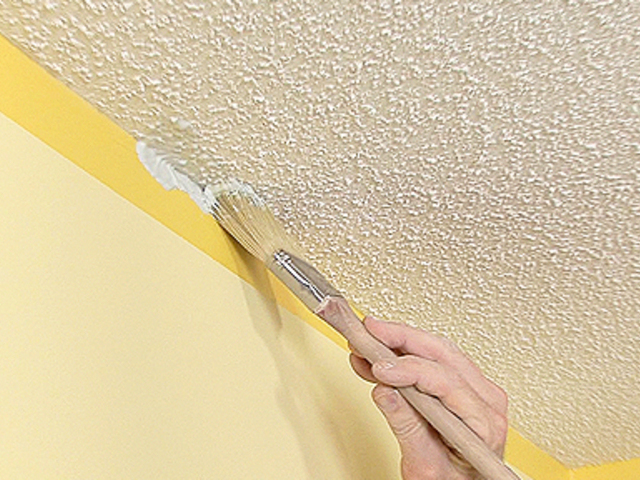 Textured Ceiling Painting Tips Popscreen