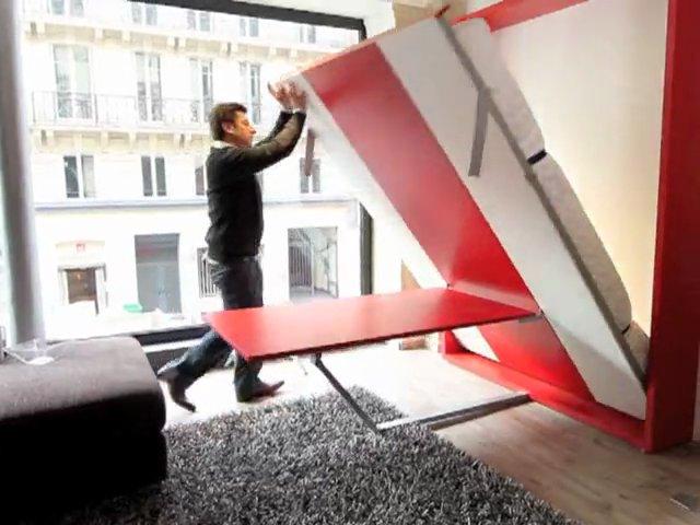 bimodal armoire lit comment a marche popscreen. Black Bedroom Furniture Sets. Home Design Ideas