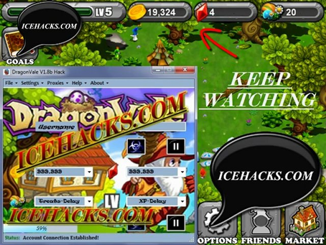 Gems Hack 2012(Unlimited Free Gems Hack Dragonvale)Free Download