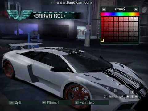 Need For Speed CARBON - Tuning car  2  CZ    PopScreenNeed For Speed Carbon Tuner Cars