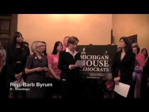 6-14-12_Michigan GOP Lawmakers Silence Women collegues | PopScreen