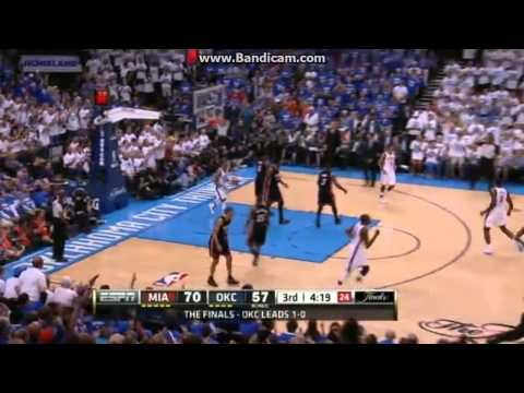 Miami Heat vs. Oklahoma City Thunder GAME 2 HIGHLIGHTS | 2012 NBA Finals | 6.14.2012 | PopScreen