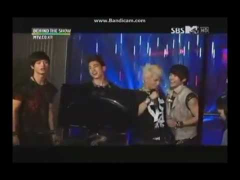 120615 Behind The Show - Minhyuk & Sungjae cut (+ JJ Project) | PopScreen
