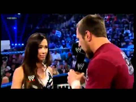 Daniel Bryan Breaks Up with AJ Lee - WWE Smackdown 4/6/12 (HQ) | PopScreen