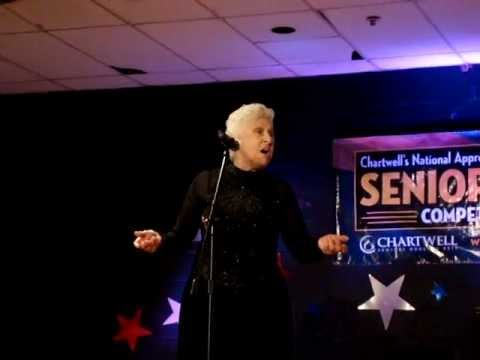 Shirley Potruff sings