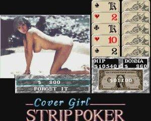 Cover girl strip poker