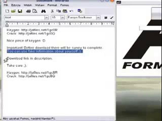F1 2011 Product Keygen