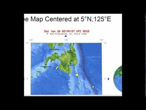 Latest Earthquakes Report - June 15, 2012 | PopScreen