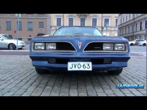 1978 Pontiac Trans Am T/A 6.6 Special Edition - incredible V8 sound, REVS! | PopScreen