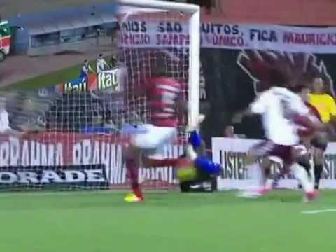 Atlético 1x4 Fluminense - Dragão atinge o fundo do poço e pega a lanterna | PopScreen