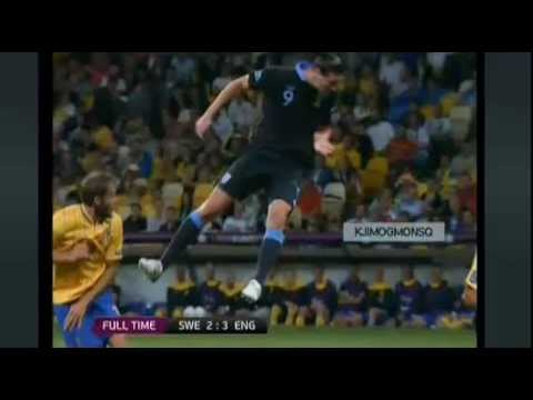 Sweden vs England - England Wins 2-3 Euro 2012 - 15/06/2012 - All Goals - Highlights | PopScreen