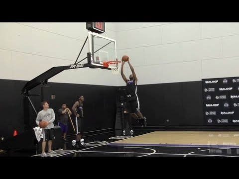 Kings Pre-Draft Workout: Andre Drummond 6/14/12 | PopScreen