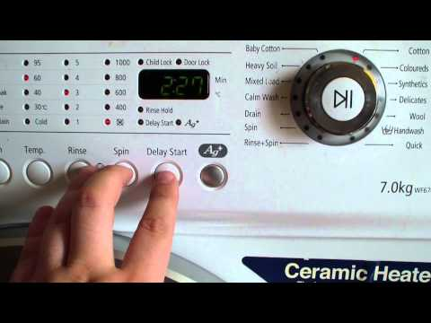 Star Wars theme settings on washing machine | PopScreen