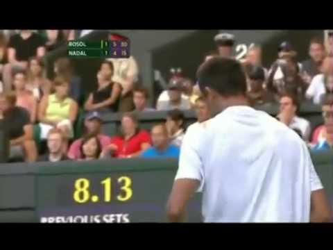 Rafael Nadal v Lukas Rosol | PopScreen