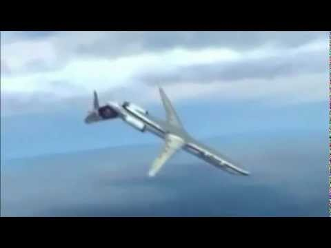 Alaska Airlines 261 Crash Animation Popscreen
