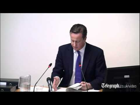 Leveson Inquiry: PM quizzed about multiple meetings with News Corp | PopScreen