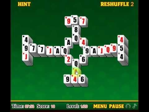 pyramid solitaire mahjong