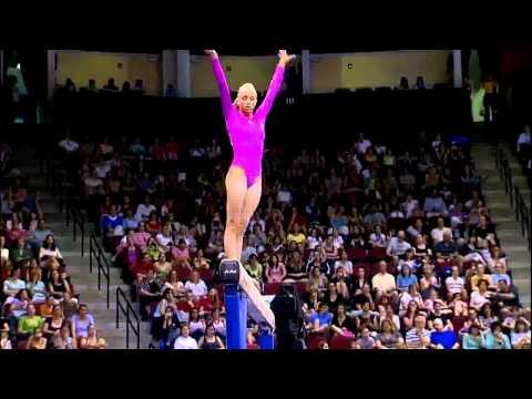 Nastia Liukin (WOGA) - 2008 Visa Championships - Beam - Day 2 | PopScreen