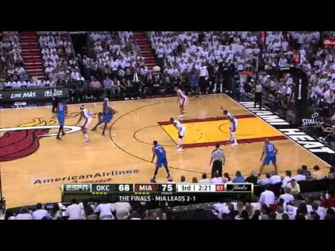 Miami Heat vs. Oklahoma City Thunder Game 4 Recap The Finals (06/19/2012) | PopScreen