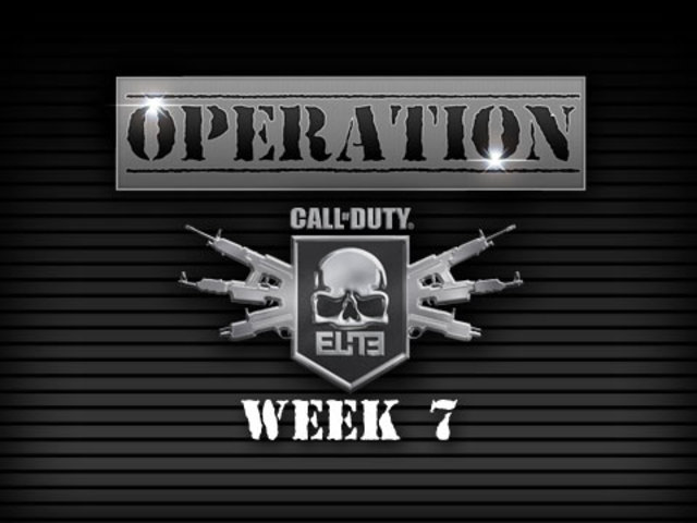 Operation: CoD Elite -- Week 7 (Mr. Sark)