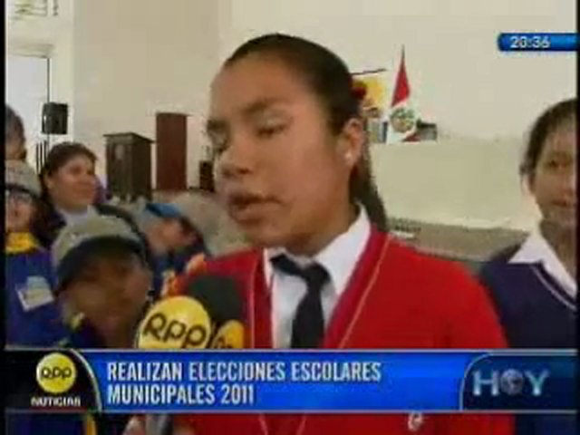 Elección del Municipio Escolar Metropolitano 2011 | PopScreen