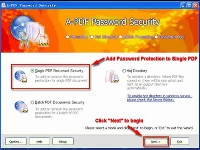 A-PDF Password Security 3.3.2 Crack + Serial Key 2012