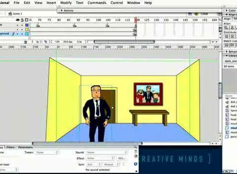 Macromedia flash mini projects