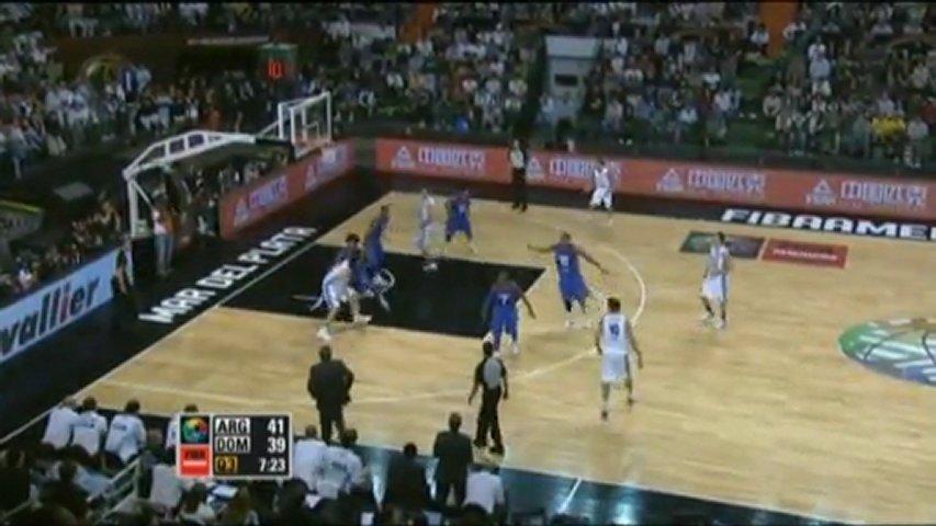FIBA América - Argentina 84 - 58 Rep. Dominicana | PopScreen