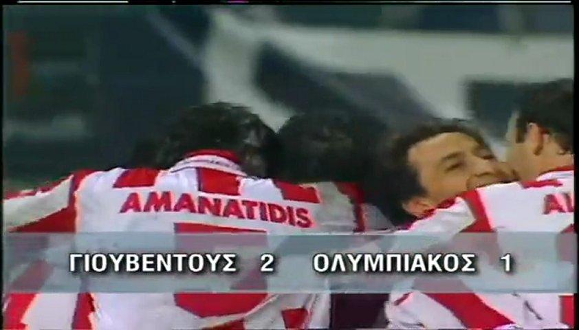 1998-1999, Juventus-Olympiakos 2-1 | PopScreen