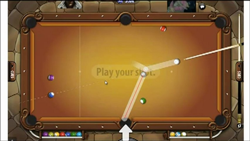 Pool Live Tour Hack 8ballRuler v1.2 Aiming / April May 2012 Fixed