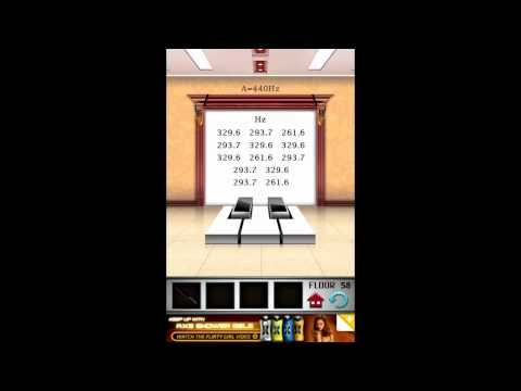 100 floors game walk through level 58 android for 100 floor cheats level 58