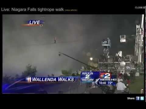 NIK WALLENDA NIAGARA FALLS | PopScreen