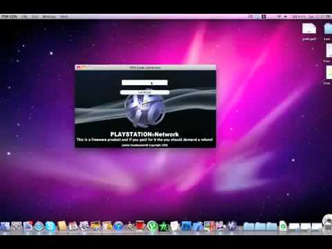 Download PSN Code Generator 100- WORK 2012 ![MEGAUPLOAD] [NO VIRUS] [NO FAKE]. | PopScreen