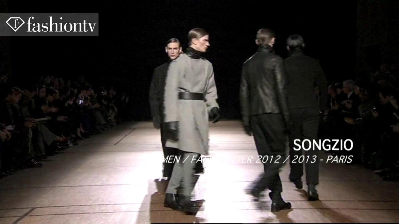 Songzio Men Fall 2012 Fashion Show, Paris Men's FW | FTV