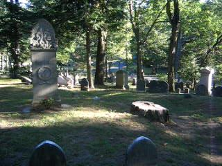 Louisa May Alcott and family burial plot in Concord Cemetary, Concord Massachusetts, 1888 | PopScreen