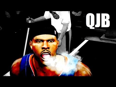 NBA 2k12 My Player: Kspade vs QJB | Clash of Titans | NBA ...