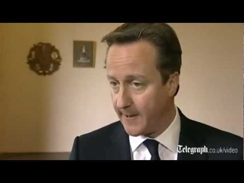 David Cameron on Barclays - With a pentagram to his side | PopScreen