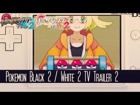 Pokemon Black 2 / Pokemon White 2 Coverage - Pokemon Black 2 & White 2 TV Trailer #2 - Bianca , Pokewood & Old Gen Pokemon!