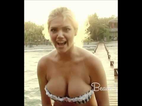 Kate Upton Breasts Pop Out Of Bikini Top | PopScreen