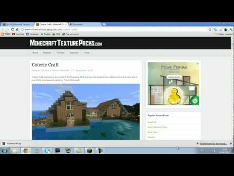 Como colocar Texture Pack - Tutorial Minecraft | PopScreen