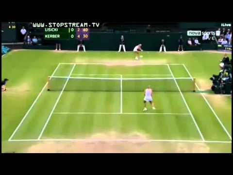 Sabine Lisicki vs Angelique Kerber - Amazing Rally Wimbledon 2012 | PopScreen